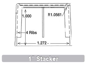 1 Inch Stacker Cap Information