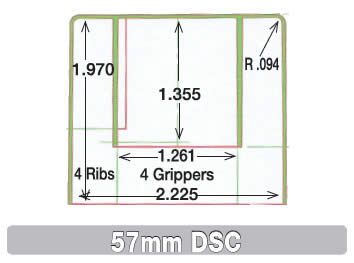 57mm DSC Cap Information